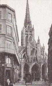 L'Eglise St. Maclou, Rouen (Seine Maritime), France, 1900-1910s