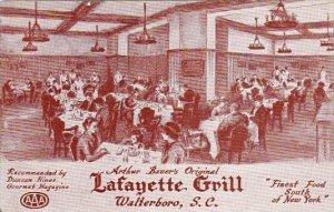 Arthur Bauers Original Lafayette Grill Walterboro South Carolina