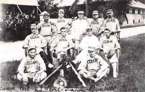 Guam Guam 1918 US Naval Station Baseball Team  Guam 1918 US Naval Station Bas...