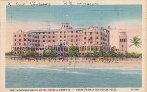 Fort Montague Beach Hotel, Nassau, Bahamas, PU 1937