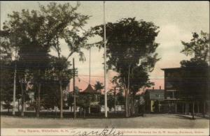 Whitefield NH King Square c1905 Postcard #3