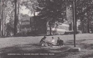 Maine Houlton Wording Hall Ricker College Artvue