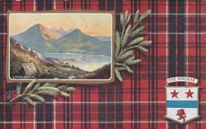 Tucks Scottish Clans The Macrae Loch Duich