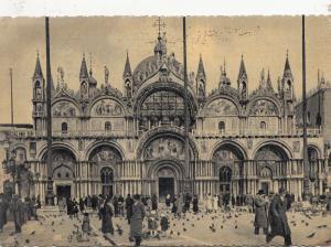 BF32496 venezia basilica di s marco italy  front/back image