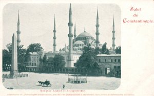 Mosque Almed et Hippodrome,Constantinople,Turkey