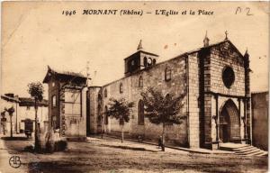 CPA  Mornant - L'Eglise et la Place  (692831)