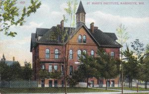 MARINETTE , Wisconsin , 00-10s ; St Mary's Institute