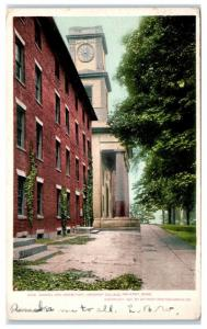 1907 Chapel and Dormitory, Amherst College, Amherst, MA Postcard
