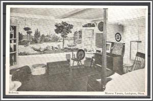 Massachusetts Lexington Munroe Tavern Bedroom - [MA-633]