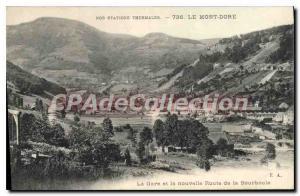 Old Postcard Le Mont Dore Station