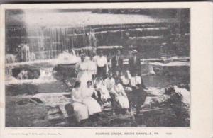 Pennsylvania Family Scene At Roaring Creek Above Danville 1906
