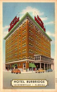 Florida Jacksonville The Hotel Burbridge Curteich