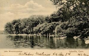 CT - Lakeville. Lake Wononscopomus