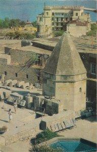 Postcard Azerbaijan BAKU palace complex of Shirvan Shahs Mausoleum of the Dervis