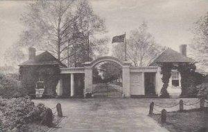 Virginia Mount Vernon North Lodge Gate Home Of George Washington Albertype