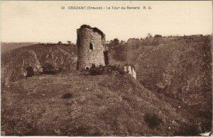 CPA CROZANT La Tour du Renard (1143784)