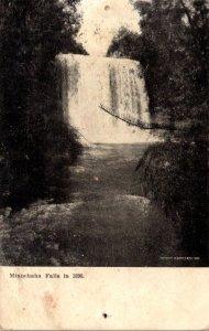 Minnesota Minneapolis Minnehaha Falls In 1890