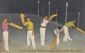 Jai Alai , Biscayne Fronton , MIAMI , Florida , 30-40s