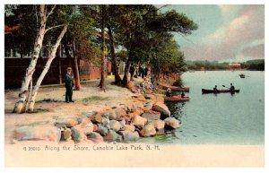 New Hampshire  Salem Canobie Lake Park Along the Shore