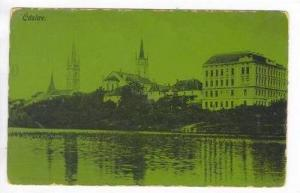 &#268 áslav, Czech Republic,PU 1911 (When Austria) Waterfront view