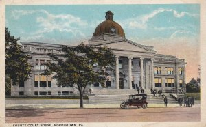 NORRISTOWN, Pennsylvania, PU-1924; County Court House