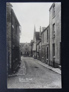 Gloucestershire PAINSWICK Friday Street & THE BELL INN - Old RP Postcard
