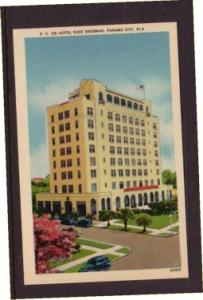 Florida colour PC Hotel Dixie Sherman, Panama City, unused