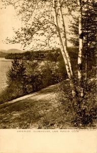 NY - Lake Placid. Lake Placid Club, Lakeside Club House