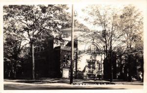 Big Rapids Michigan~First Methodist Episcopal Church~Mecosta County~1940s RPPC