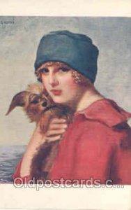 Artist G. Herve (France) Series 1222 Unused