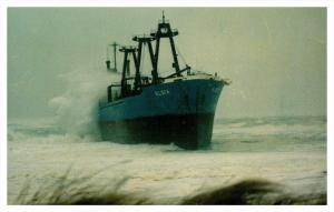 3493   S.S. Eldia  aground Nauset Beach MA