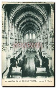 Old Postcard Monastery Of Great Interior of & # 39eglise