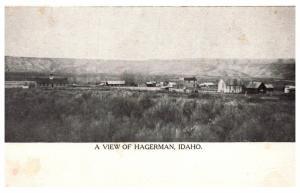 Idaho  Aerial view of Hagerman