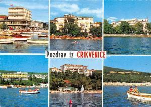 Croatia Pozdrav iz Crikvenice different aspects, boats, bateaux