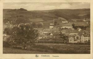 luxemburg, ETTELBRÜCK, Panorama (1927) Postcard
