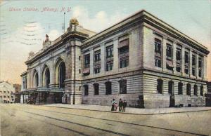 Union Railroad Station Albany New York 1909