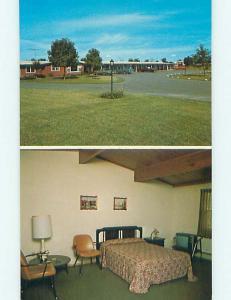 Unused Pre-1980 BONNIE BELLE MOTEL Kewaskum Wisconsin WI s5457