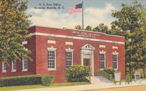 Post Office , ROANOKE RAPIDS , North Carolina , 30-40s