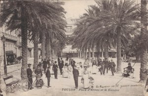 France Toulon Place d'Armes et le Kiosque 03.28