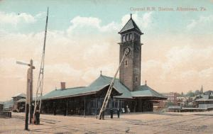 ALLENTOWN , Pennsylvania , 1900-10s; Central Railroad Station