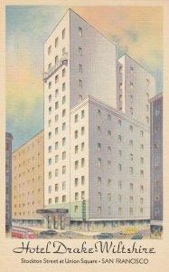 SAN FRANCISCO , California , 1930-40s ; Hotel Drake-Wiltshire