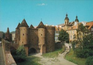 Poland Warsaw Stare MIasto Castle Scene