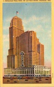 Ohio Cincinnati Netherland Plaza Hotel Curteich