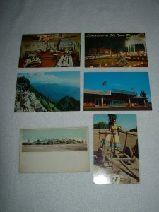 Albuquerque NM - Lot Of 6 Great Vintage Postcards - x0563