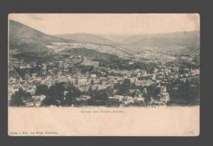 087258 GERMANY Gruss aus Baden-Baden Vintage PC