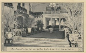 BUFFALO, New York, 1901-07;  Palm Room , Hotel Statler