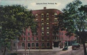 Maine Portland Lafayette Hotel 1913