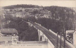 MEULAN, Yvelines, France, 1900-1910's; Panorama Au Loin, Hardricourt Et Les C...