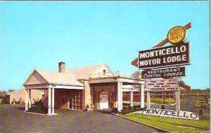 NJ Bellmawr Monticello Motor Lodge