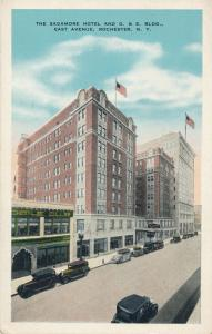 Sagamore Hotel on East Avenue, Rochester, New York - WB